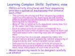 learning complex skills systemic view