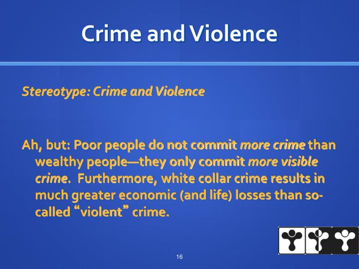 Crime and Violence