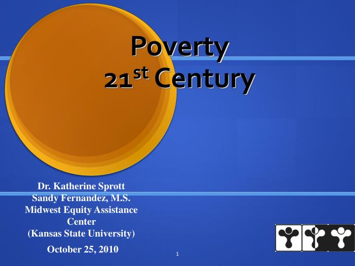 Poverty 21 st century
