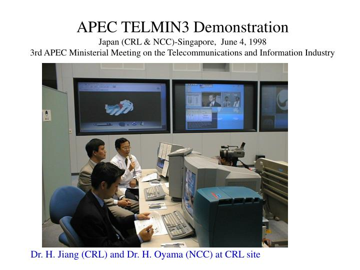 APEC TELMIN3 Demonstration