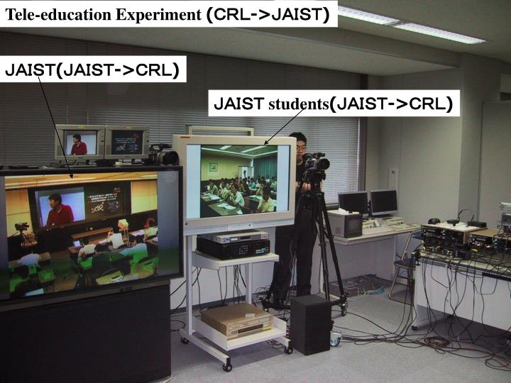 Tele-education Experiment