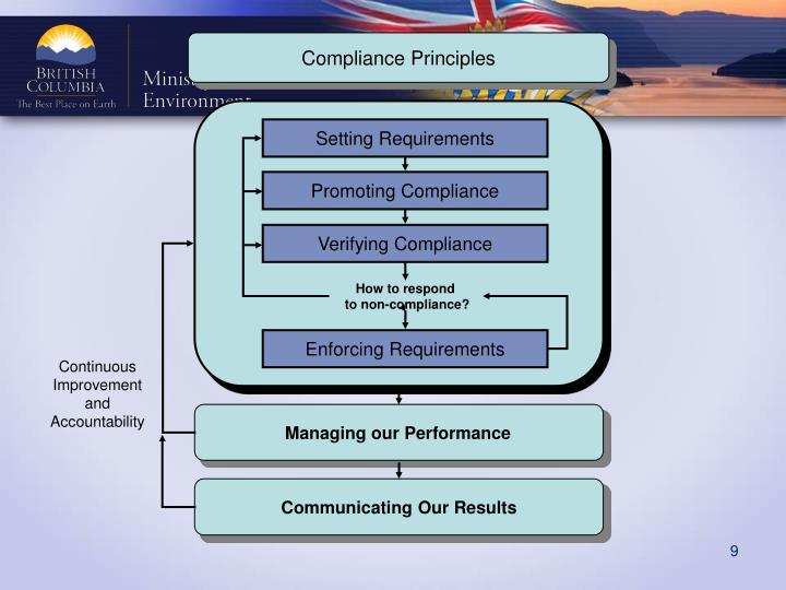 Compliance Principles