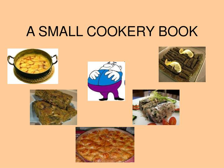A small cookery book