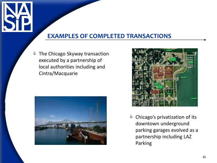 The Chicago Skyway transaction