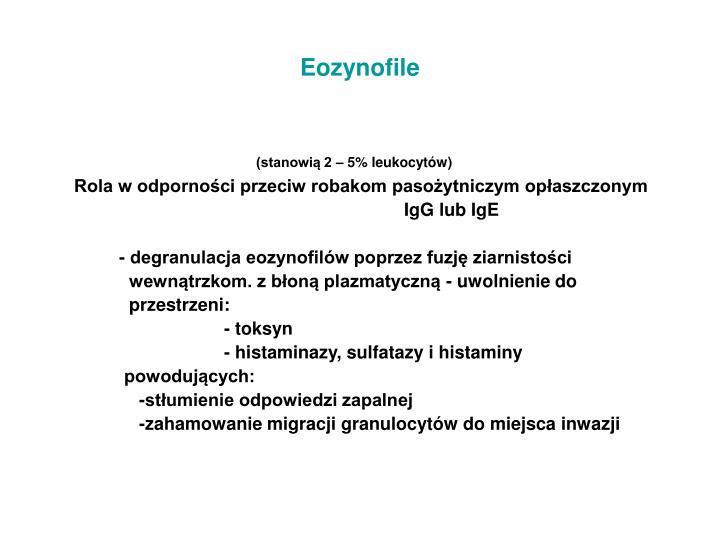 Eozynofile