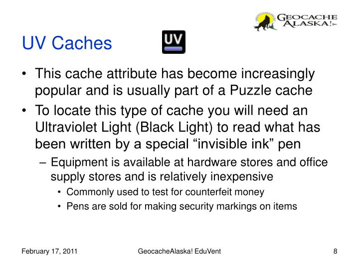 This cache attribute has become increasingly popular and is usually part of a Puzzle cache
