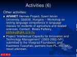 activities 61