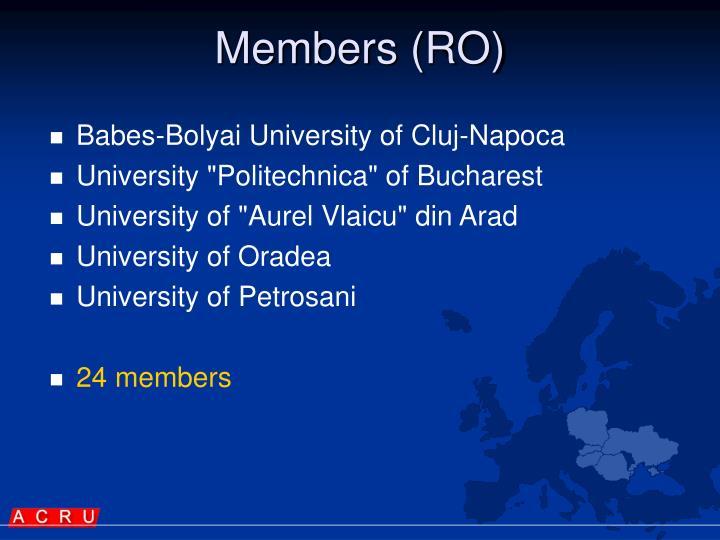 Members (RO)
