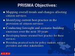 prisma objectives