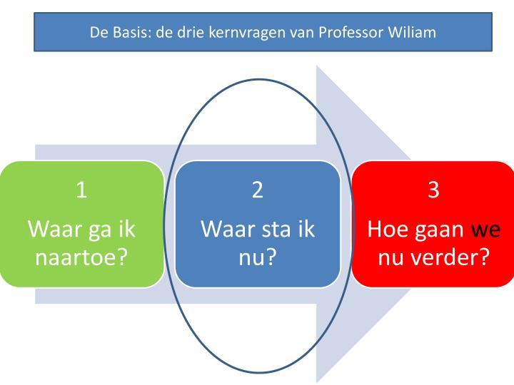 De Basis: de drie kernvragen van Professor