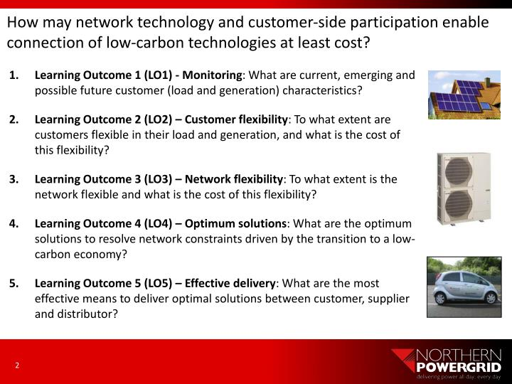 How may network technology and customer-side participation enable connection of low-carbon technologies at least cost?
