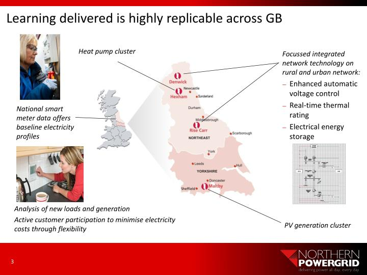 Learning delivered is highly replicable across GB