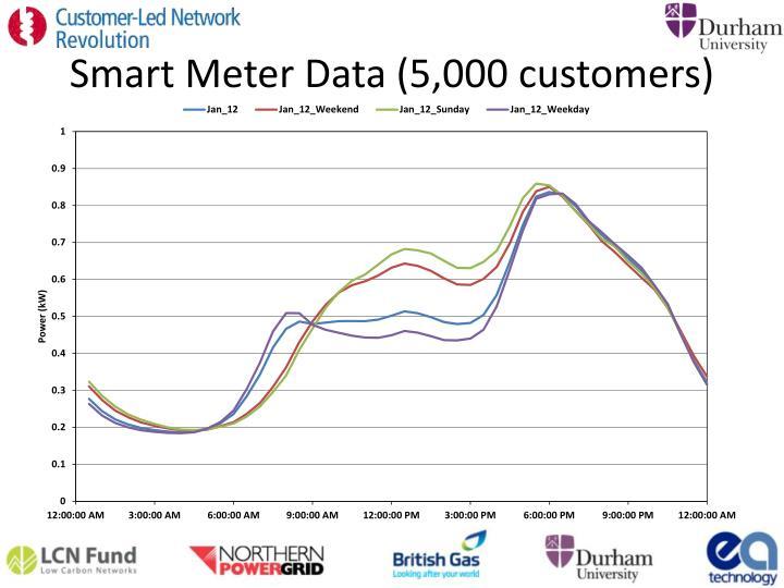 Smart Meter Data (5,000 customers)