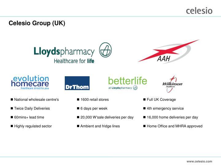 Celesio Group (UK)
