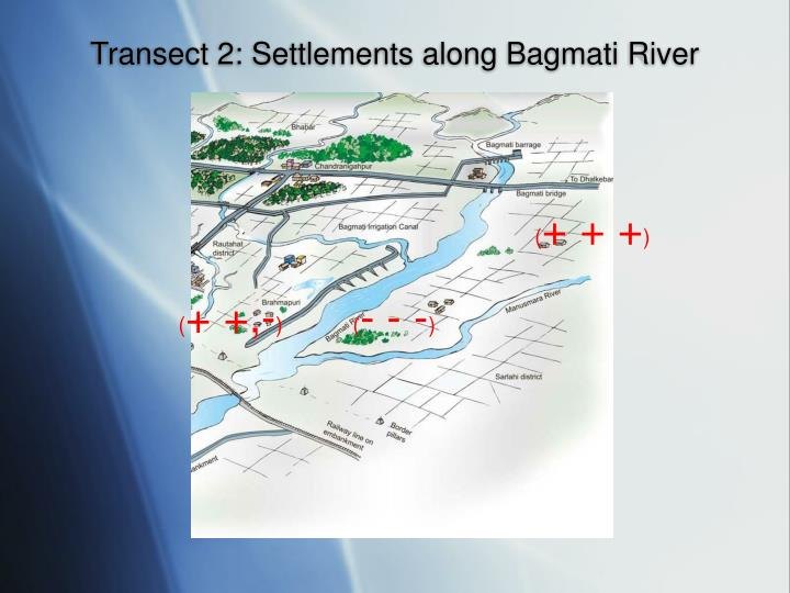 Transect 2: Settlements along Bagmati River