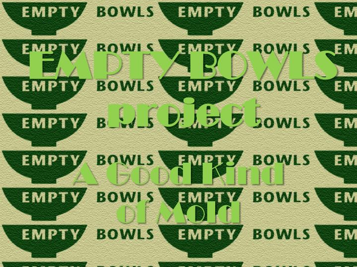 Empty bowls project
