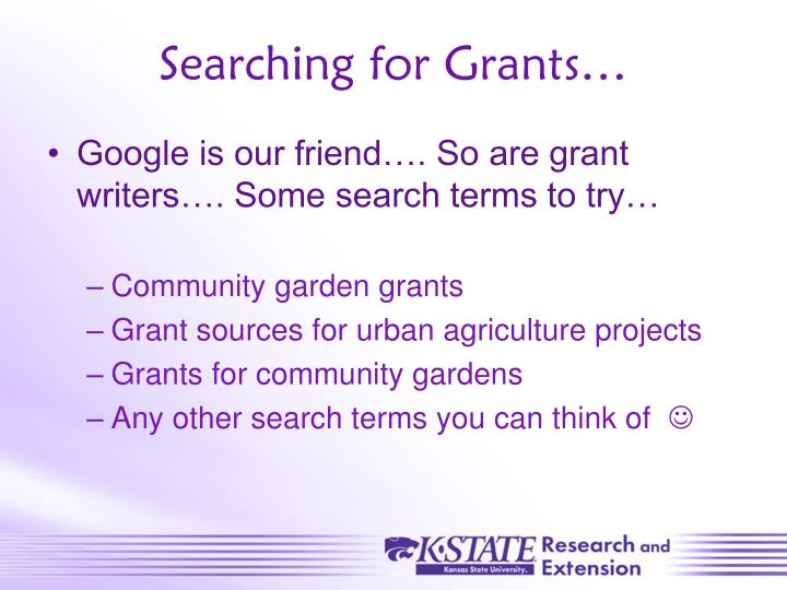 Searching for Grants…