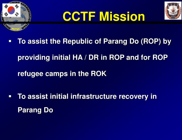 CCTF Mission