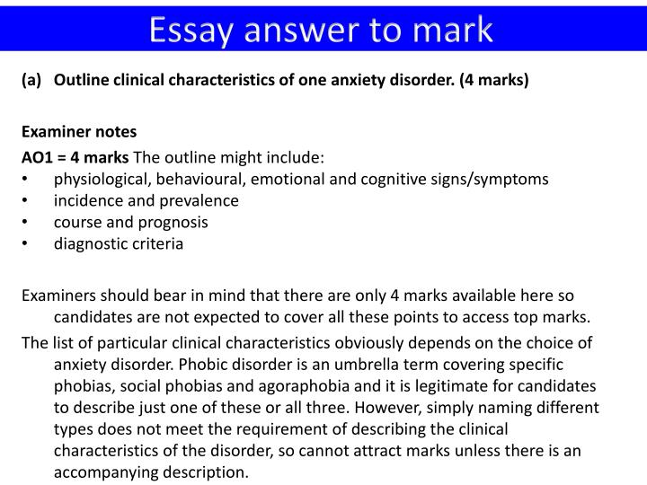 phobic disorders essay 2012-8-29 psychological therapies for phobic disorders to read up on the psychological therapies for phobic disorders, refer to pages 500–510 of eysenck's a2 level psychology.