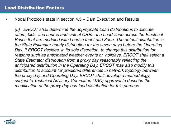 Load Distribution Factors