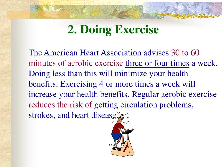 2. Doing Exercise