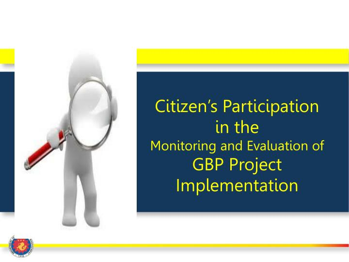 Citizen's Participation in the