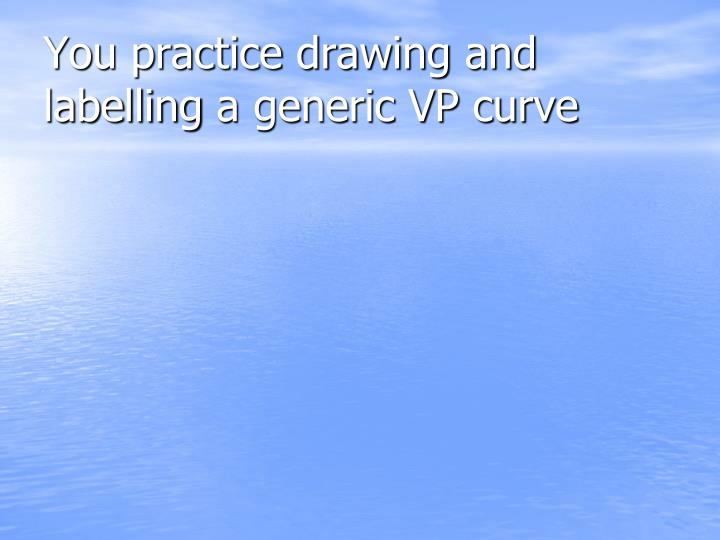 You practice drawing and