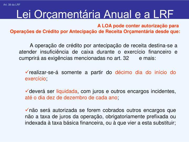 Art. 38 da LRF