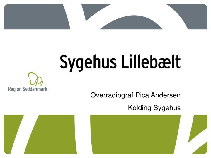 Overradiograf Pica Andersen