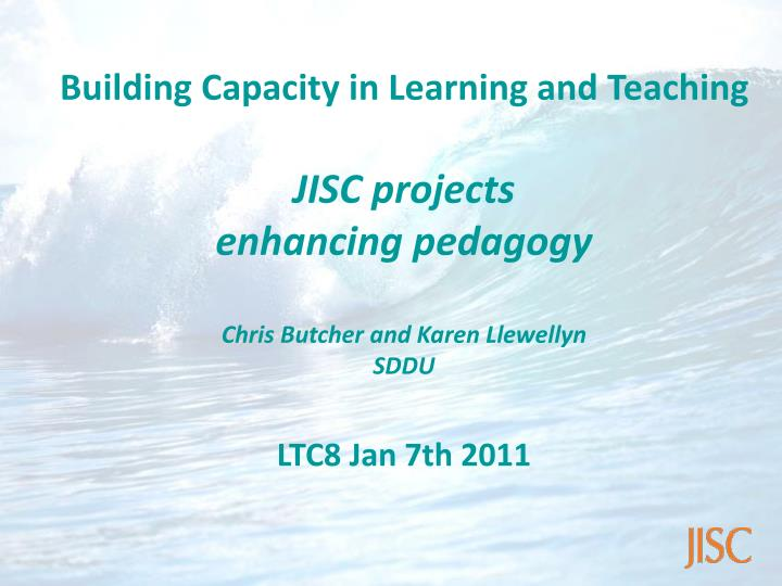 Building Capacity in Learning and Teaching