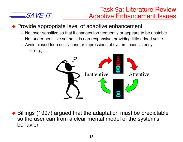 Task 9a: Literature Review