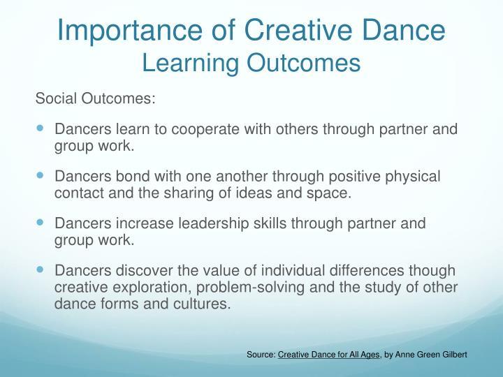 Importance of Creative Dance