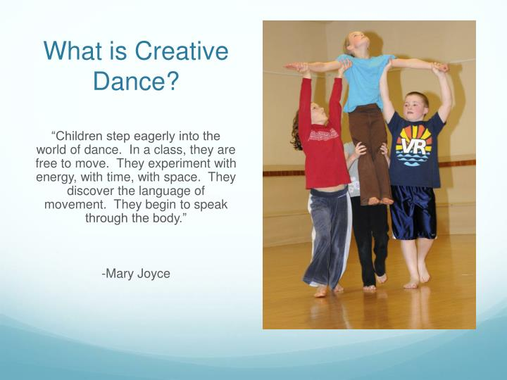 What is Creative Dance?