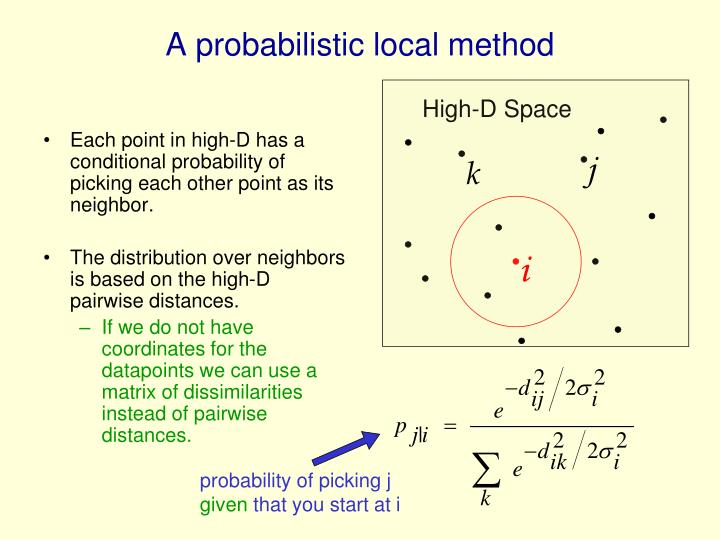 A probabilistic local method