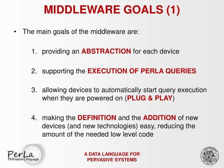 MIDDLEWARE GOALS (1)