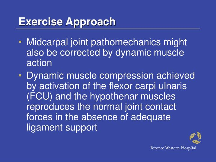 Exercise Approach