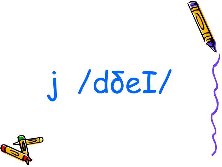 j  /dδeI/