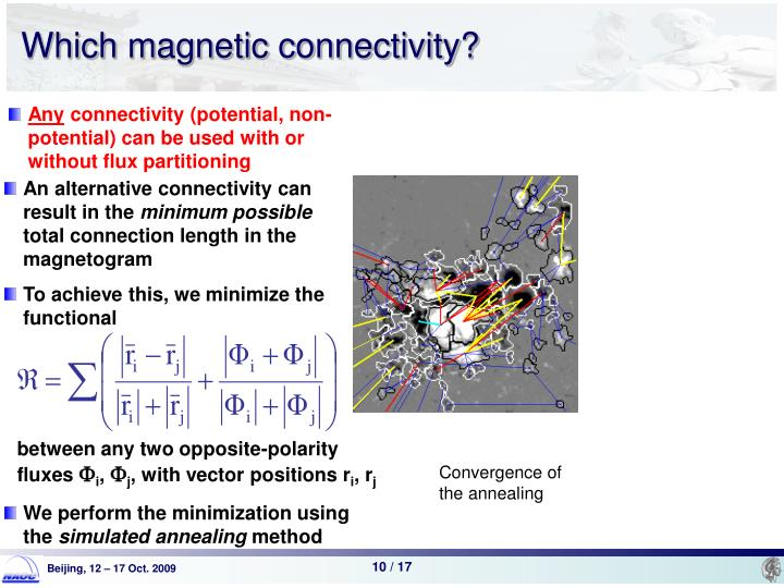 Which magnetic connectivity?