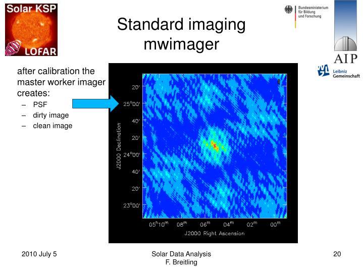 Standard imaging