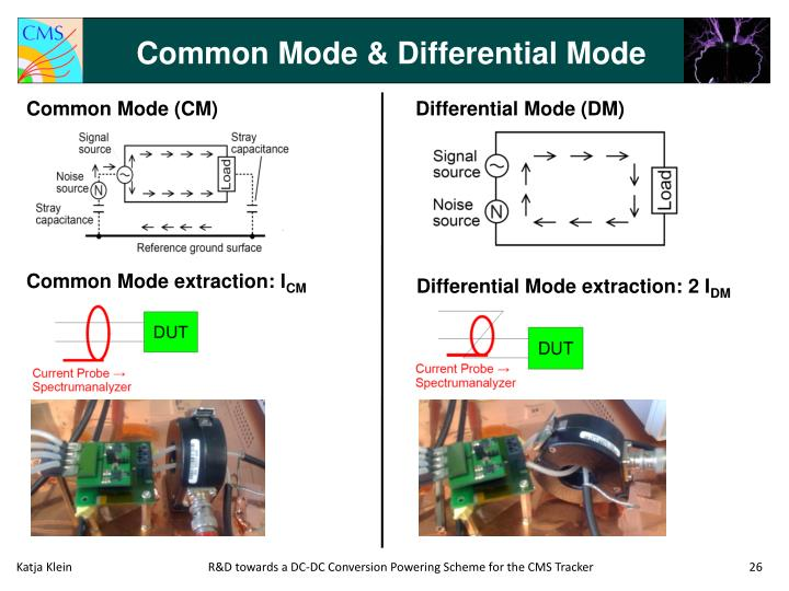 Common Mode & Differential Mode