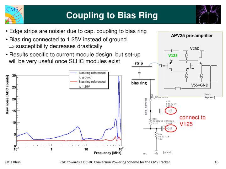 Coupling to Bias Ring