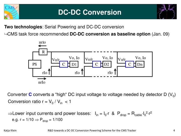 DC-DC Conversion