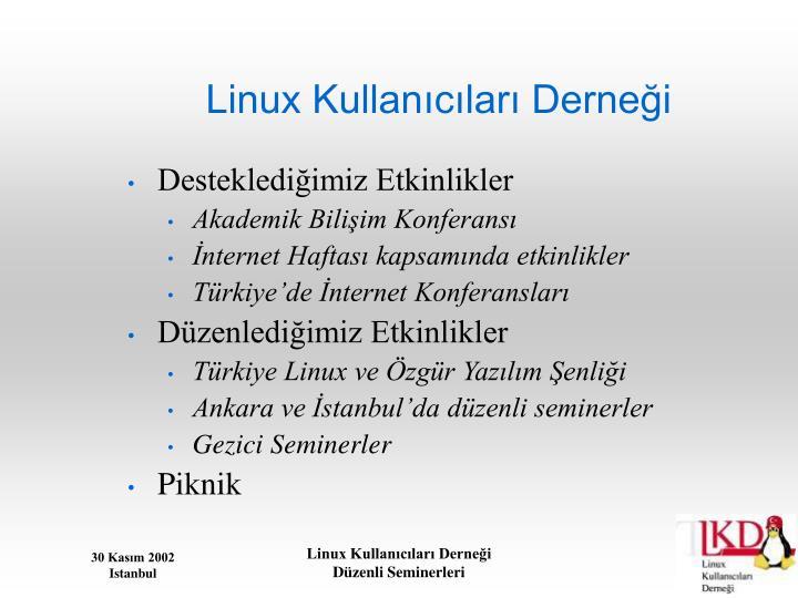 Linux Kullanıcıları Derneği