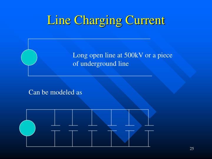 Line Charging Current