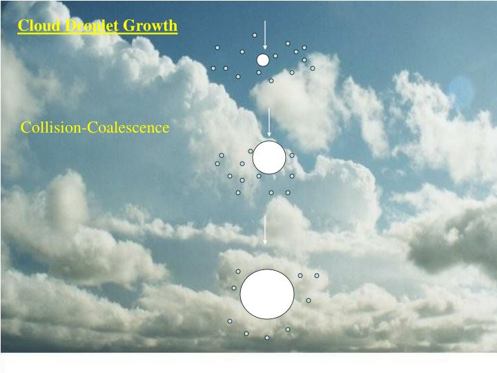 Cloud Droplet Growth