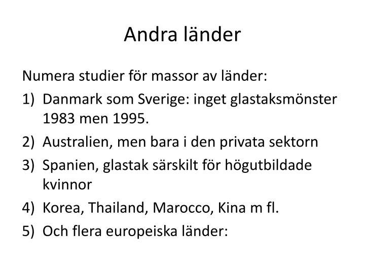 Andra länder
