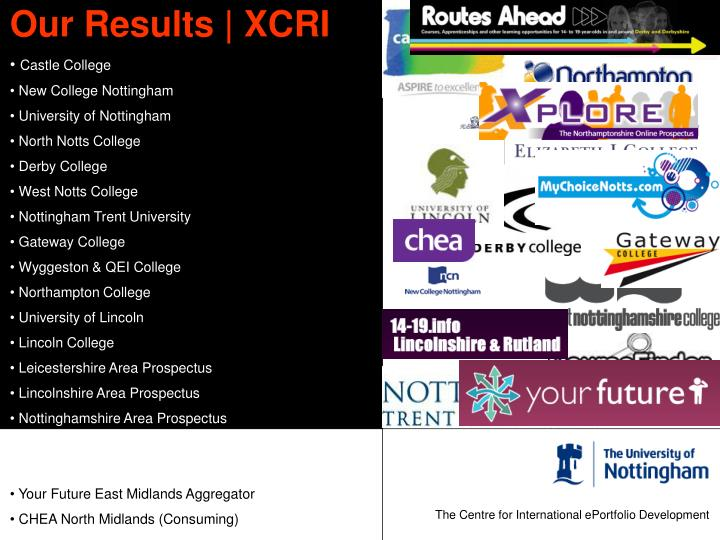 Our Results | XCRI