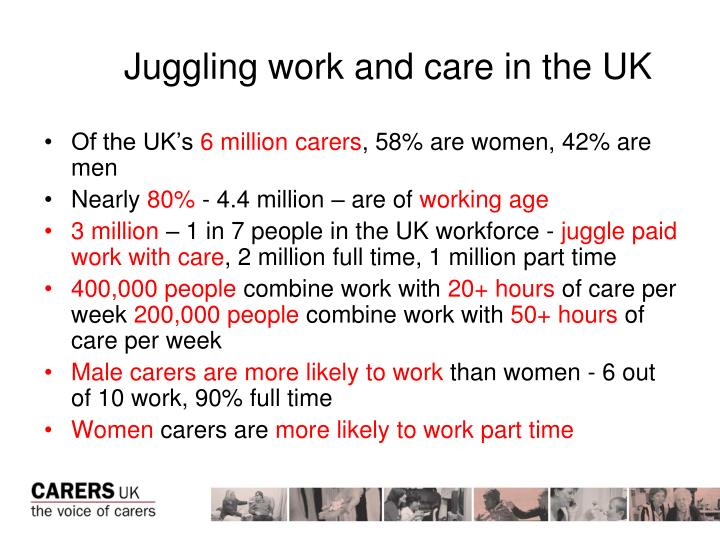 Juggling work and care in the UK