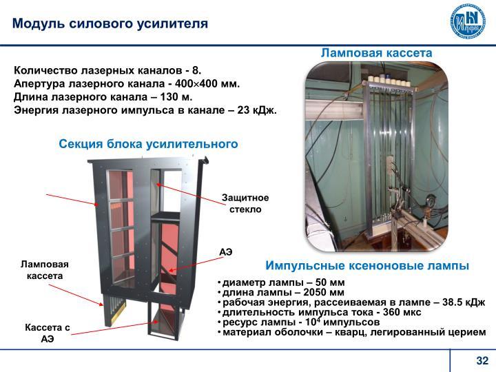 Модуль силового усилителя
