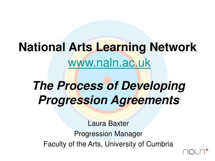 National Arts Learning Network